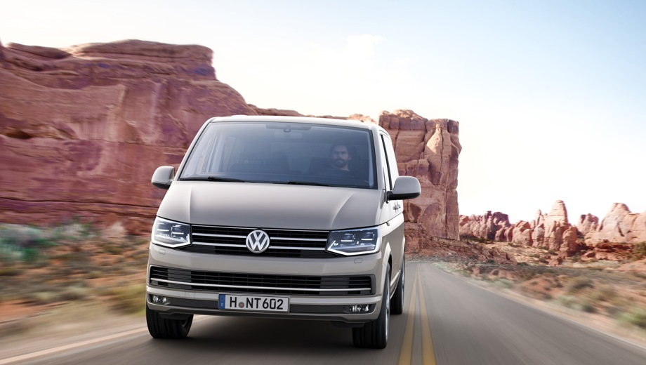 Volkswagen Multivan. Выпускается с 2015 года. Двадцать девять базовых комплектаций. Цены от 2 764 400 до 5 111 100 руб.Двигатель 2.0, дизельный и бензиновый. Привод передний и полный. КПП: механическая и роботизированная.