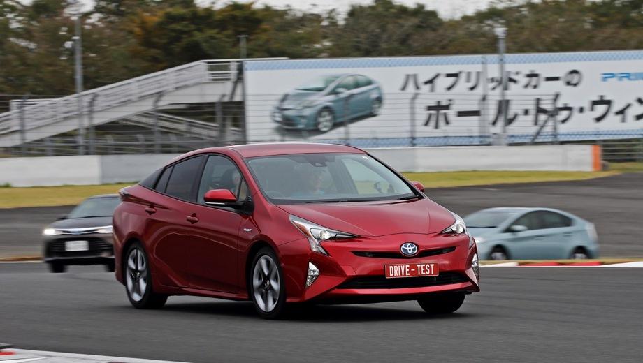 Toyota Prius. Выпускается с 2015 года. Одна базовая комплектация. Цена 2 322 000 руб.Двигатель 1.8, гибридный. Привод передний. КПП: вариатор.