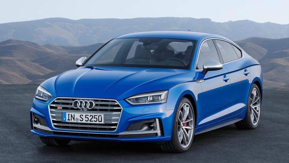Audi S5 Sportback. Выпускается с 2016 года. Одна базовая комплектация. Цена 4 600 000 руб.Двигатель 3.0, бензиновый. Привод полный. КПП: автоматическая.