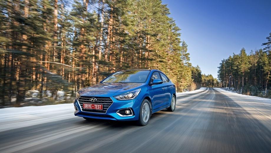 Hyundai Solaris new. Выпускается с 2016 года. Одиннадцать базовых комплектаций. Цены от 746 000 до 1 006 000 руб.Двигатель от 1.4 до 1.6, бензиновый. Привод передний. КПП: механическая и автоматическая.