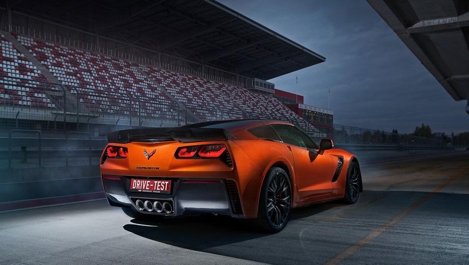Chevrolet Corvette Z06. Выпускается с 2016 года. Одна базовая комплектация. Цена 8 800 000 руб.Двигатель 6.2, бензиновый. Привод задний. КПП: механическая.
