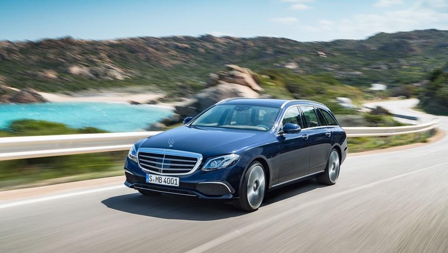 Mercedes-Benz E Estate. Выпускается с 2016 года. Две базовые комплектации. Цены от 3 350 000 до 3 580 000 руб.Двигатель 2.0, бензиновый. Привод задний и полный. КПП: автоматическая.