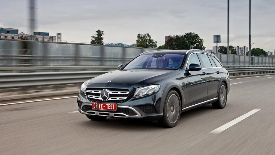 Mercedes-Benz E Estate All-Terrain. Выпускается с 2016 года. Две базовые комплектации. Цены от 4 370 000 до 5 413 904 руб.Двигатель от 2.0 до 2.9, дизельный. Привод полный. КПП: автоматическая.