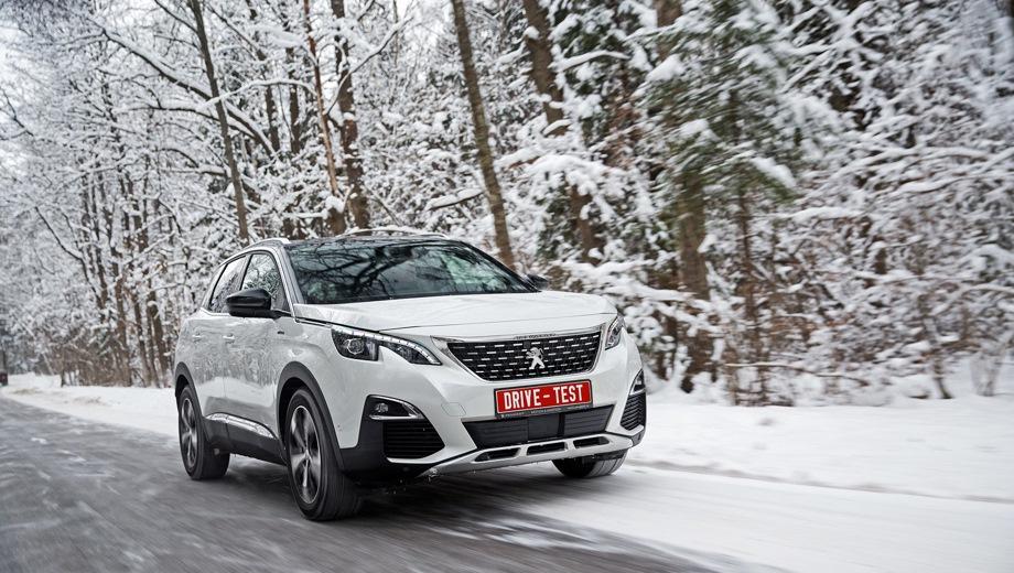 Peugeot 3008. Выпускается с 2016 года. Восемь базовых комплектаций. Цены от 2 009 000 до 2 509 000 руб.Двигатель от 1.6 до 2.0, бензиновый и дизельный. Привод передний. КПП: автоматическая.
