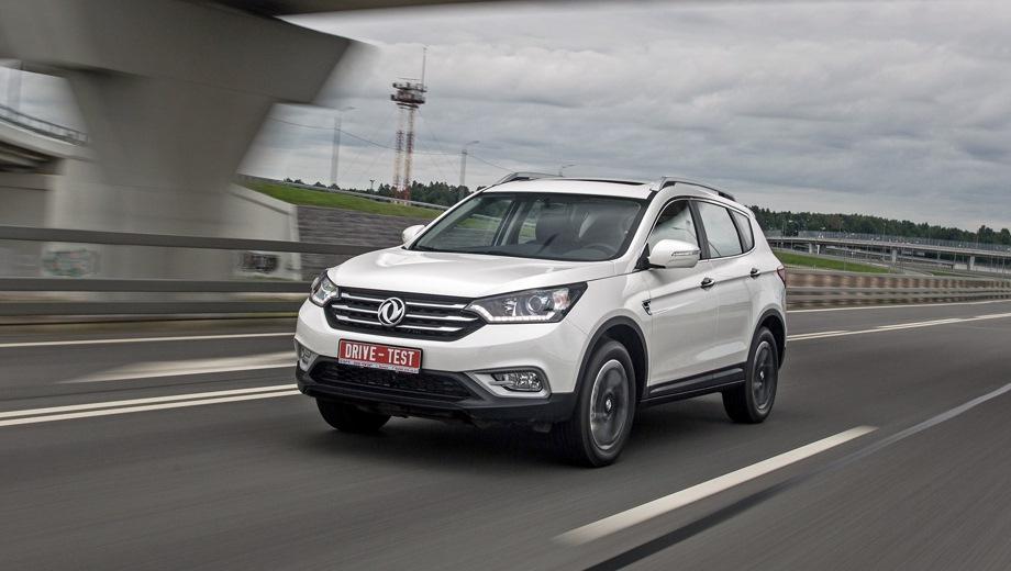 Dongfeng AX7. Выпускается с 2015 года. Две базовые комплектации. Цены от 1 179 000 до 1 279 000 руб.Двигатель 2.0, бензиновый. Привод передний. КПП: автоматическая.