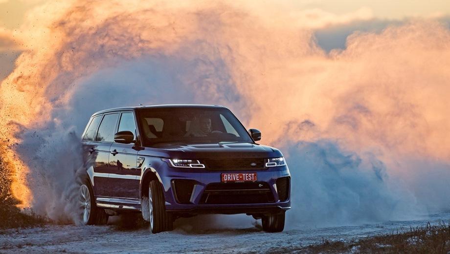 Land Rover Range Rover Sport. Выпускается с 2017 года. Семнадцать базовых комплектаций. Цены от 5 145 000 до 9 353 000 руб.Двигатель от 2.0 до 5.0, бензиновый, дизельный и гибридный. Привод полный. КПП: автоматическая.