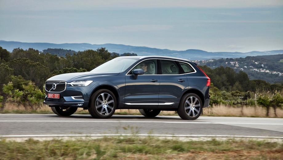 Volvo XC60. Выпускается с 2017 года. Двенадцать базовых комплектаций. Цены от 3 225 000 до 4 120 000 руб.Двигатель 2.0, бензиновый и дизельный. Привод полный. КПП: автоматическая.