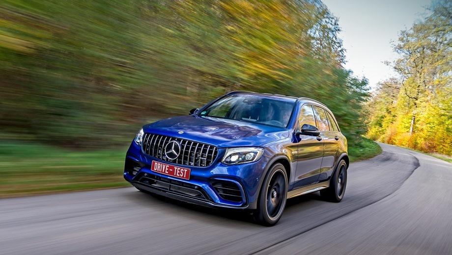 Mercedes-Benz GLC 63 AMG. Выпускается с 2016 года. Две базовые комплектации. Цены от 6 650 000 до 7 820 000 руб.Двигатель 4.0, бензиновый. Привод полный. КПП: автоматическая.