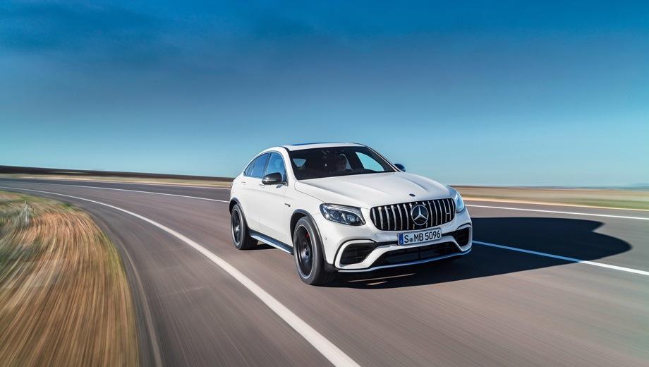 Mercedes-Benz GLC 63 AMG Coupe. Выпускается с 2016 года. Две базовые комплектации. Цены от 6 800 000 до 7 970 000 руб.Двигатель 4.0, бензиновый. Привод полный. КПП: автоматическая.