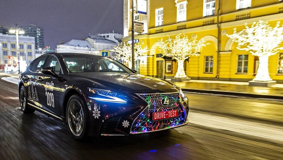 Lexus LS. Выпускается с 2017 года. Девять базовых комплектаций. Цены от 6 793 000 до 11 022 000 руб.Двигатель от 3.4 до 3.5, бензиновый. Привод задний и полный. КПП: автоматическая.