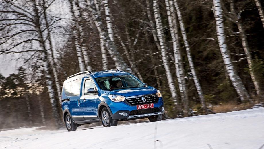 Renault Dokker. Выпускается с 2012 года. Пять базовых комплектаций. Цены от 904 000 до 1 129 990 руб.Двигатель от 1.5 до 1.6, бензиновый и дизельный. Привод передний. КПП: механическая.