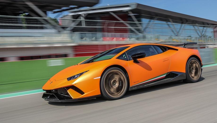Lamborghini Huracan Performante. Выпускается с 2014 года. Одна базовая комплектация. Цена 16 057 995 руб.Двигатель 5.2, бензиновый. Привод полный. КПП: роботизированная.