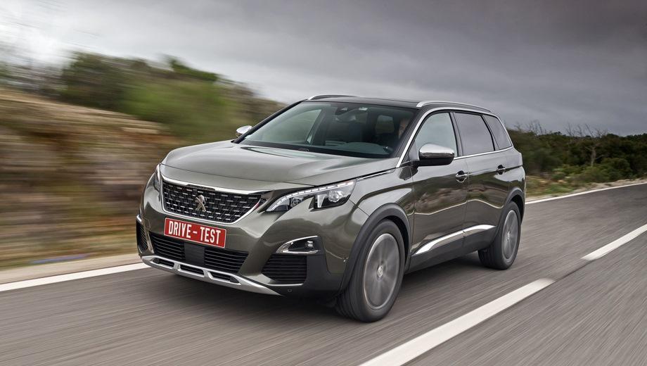 Peugeot 5008. Выпускается с 2017 года. Шесть базовых комплектаций. Цены от 1 979 900 до 2 389 000 руб.Двигатель от 1.6 до 2.0, бензиновый и дизельный. Привод передний. КПП: автоматическая.
