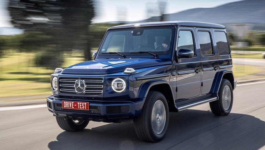Mercedes-Benz G 5D. Выпускается с 2018 года. Одна базовая комплектация. Цена 9 490 000 руб.Двигатель 4.0, бензиновый. Привод полный. КПП: автоматическая.