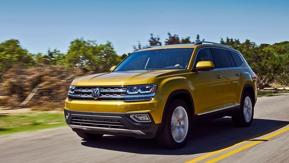 Volkswagen Teramont. Выпускается с 2017 года. Семь базовых комплектаций. Цены от 3 009 000 до 4 059 000 руб.Двигатель от 2.0 до 3.6, бензиновый. Привод полный. КПП: автоматическая.