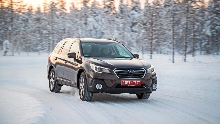 Subaru Outback. Выпускается с 2017 года. Пять базовых комплектаций. Цены от 2 659 000 до 3 509 900 руб.Двигатель от 2.5 до 3.6, бензиновый. Привод полный. КПП: вариатор.