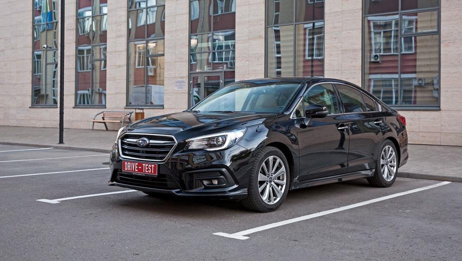 Subaru Legacy. Выпускается с 2017 года. Две базовые комплектации. Цены от 2 229 000 до 2 379 000 руб.Двигатель 2.5, бензиновый. Привод полный. КПП: вариатор.
