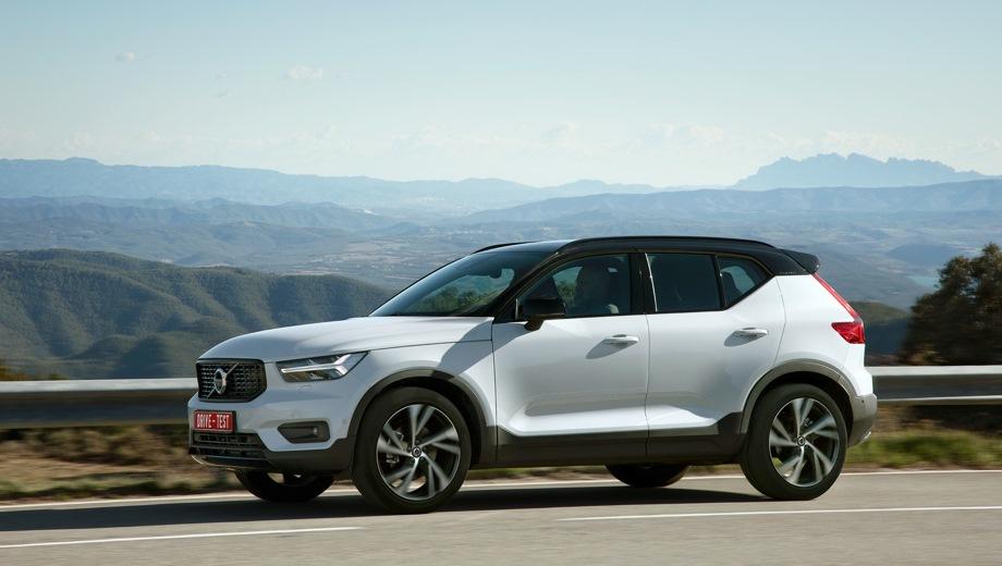 Volvo XC40. Выпускается с 2017 года. Семнадцать базовых комплектаций. Цены от 2 418 000 до 3 280 000 руб.Двигатель 2.0, дизельный и бензиновый. Привод передний и полный. КПП: автоматическая.