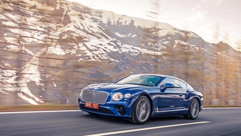 Bentley Continental GT. Выпускается с 2017 года. Одна базовая комплектация. Цена 14 290 000 руб.Двигатель 6.0, бензиновый. Привод полный. КПП: автоматическая.