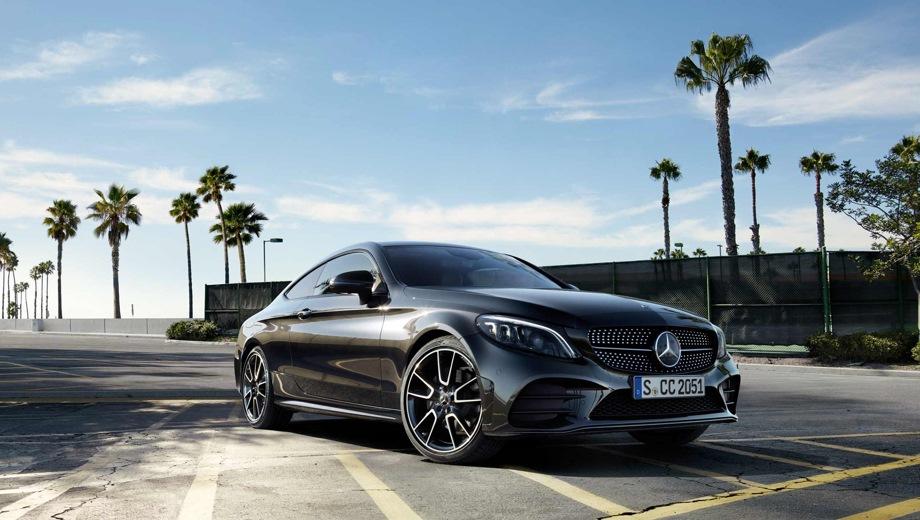 Mercedes-Benz C Coupe. Выпускается с 2018 года. Четыре базовые комплектации. Цены от 2 780 000 до 3 200 000 руб.Двигатель от 1.5 до 1.6, бензиновый. Привод задний и полный. КПП: автоматическая.