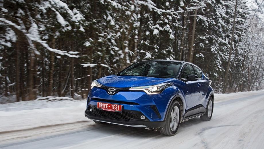 Toyota C-HR. Выпускается с 2016 года. Три базовые комплектации. Цены от 1 367 000 до 2 169 000 руб.Двигатель от 1.2 до 2.0, бензиновый. Привод передний и полный. КПП: механическая и вариатор.