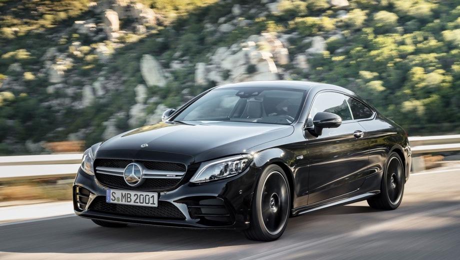 Mercedes-Benz C 43 AMG Сoupe. Выпускается с 2018 года. Одна базовая комплектация. Цена 4 370 000 руб.Двигатель 3.0, бензиновый. Привод полный. КПП: автоматическая.