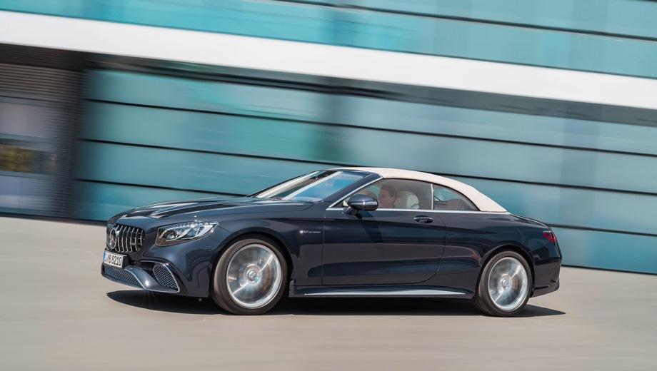 Mercedes-Benz S Cabriolet AMG. Выпускается с 2017 года. Одна базовая комплектация. Цена 13 960 000 руб.Двигатель 4.0, бензиновый. Привод полный. КПП: автоматическая.