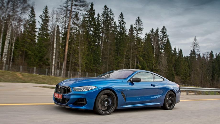 BMW 8 Series. Выпускается с 2018 года. Две базовые комплектации. Цены от 6 830 000 до 8 570 000 руб.Двигатель от 3.0 до 4.4, дизельный и бензиновый. Привод полный. КПП: автоматическая.