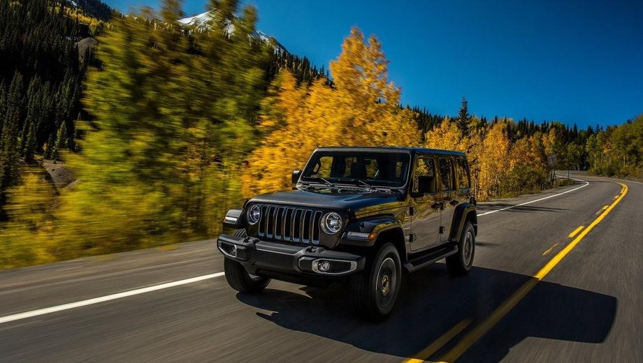 Jeep Wrangler 4D. Выпускается с 2017 года. Три базовые комплектации. Цены от 3 735 000 до 4 315 000 руб.Двигатель 2.0, бензиновый. Привод полный. КПП: автоматическая.