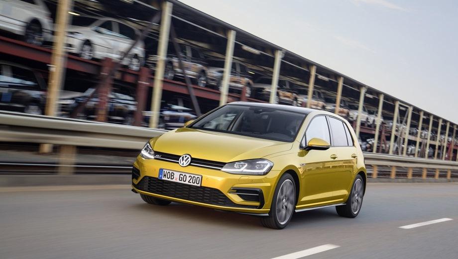 Volkswagen Golf 5D. Выпускается с 2017 года. Четыре базовые комплектации. Цены от 1 429 900 до 1 689 900 руб.Двигатель 1.4, бензиновый. Привод передний. КПП: роботизированная.