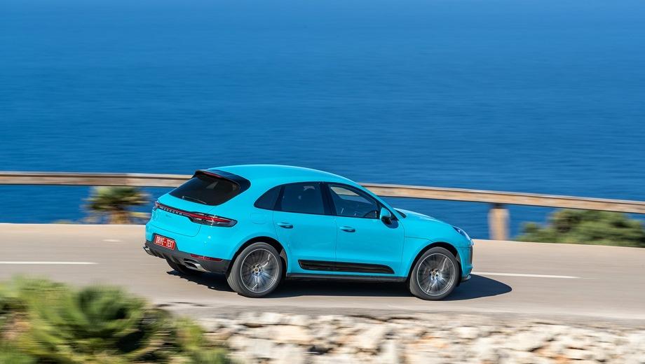 Porsche Macan. Выпускается с 2018 года. Четыре базовые комплектации. Цены от 4 128 000 до 6 896 000 руб.Двигатель от 2.0 до 3.0, бензиновый. Привод полный. КПП: роботизированная.