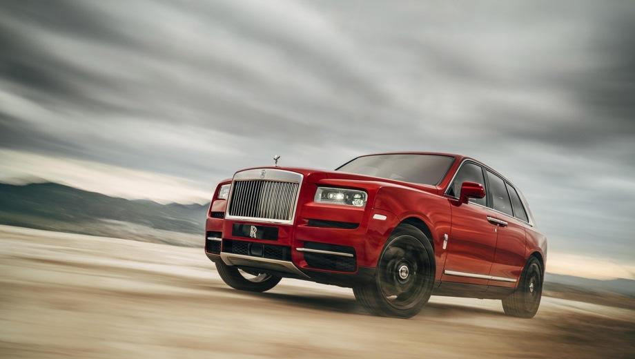 Rolls-Royce Cullinan. Выпускается с 2018 года. Одна базовая комплектация. Цена 33 000 000 руб.Двигатель 6.7, бензиновый. Привод полный. КПП: автоматическая.