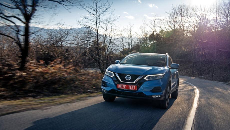 Nissan Qashqai. Выпускается с 2017 года. Двадцать три базовые комплектации. Цены от 1 319 000 до 1 887 000 руб.Двигатель от 1.2 до 2.0, бензиновый. Привод передний и полный. КПП: механическая и вариатор.