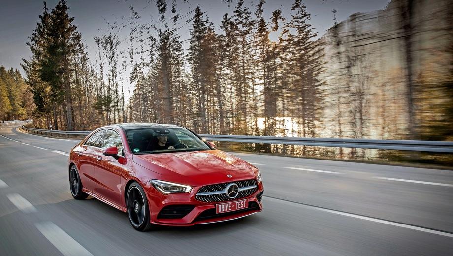 Mercedes-Benz CLA. Выпускается с 2019 года. Две базовые комплектации. Цены от 2 500 000 до 2 900 000 руб.Двигатель от 1.3 до 2.0, бензиновый. Привод передний и полный. КПП: роботизированная.