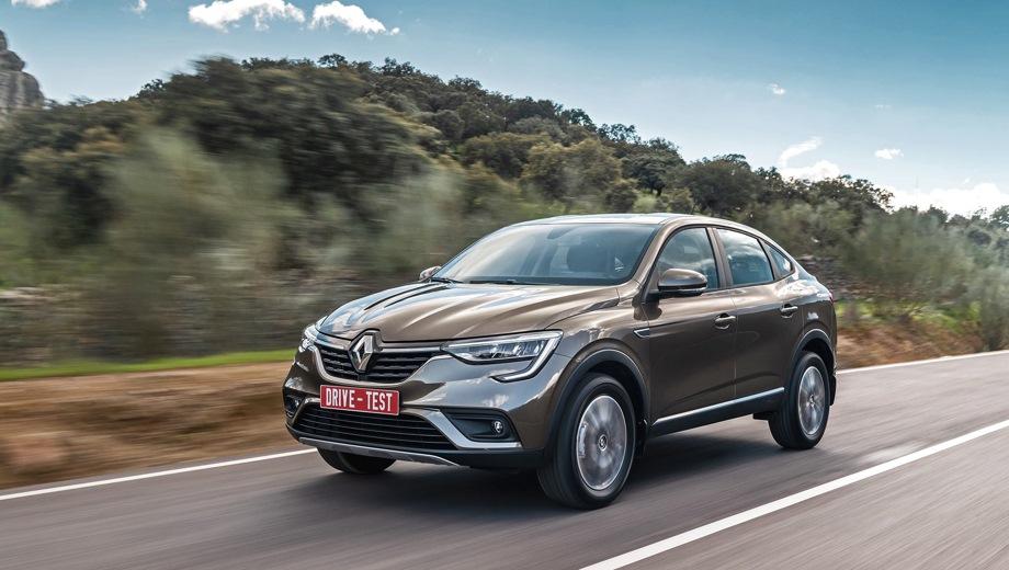 Renault Arkana. Выпускается с 2019 года. Двенадцать базовых комплектаций. Цены от 1 015 000 до 1 524 990 руб.Двигатель от 1.3 до 1.6, бензиновый. Привод передний и полный. КПП: механическая и вариатор.