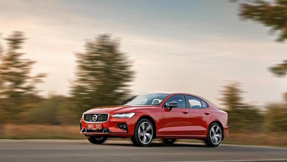 Volvo S60. Выпускается с 2018 года. Шесть базовых комплектаций. Цены от 2 480 000 до 3 250 000 руб.Двигатель 2.0, бензиновый. Привод передний и полный. КПП: автоматическая.