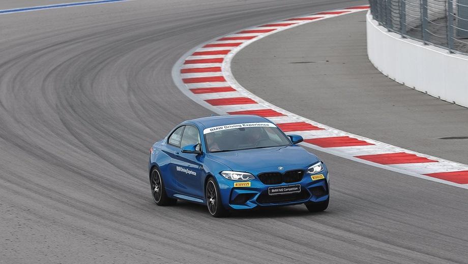 BMW M2. Выпускается с 2018 года. Четыре базовые комплектации. Цены от 5 180 000 до 7 752 000 руб.Двигатель 3.0, бензиновый. Привод задний. КПП: механическая и роботизированная.