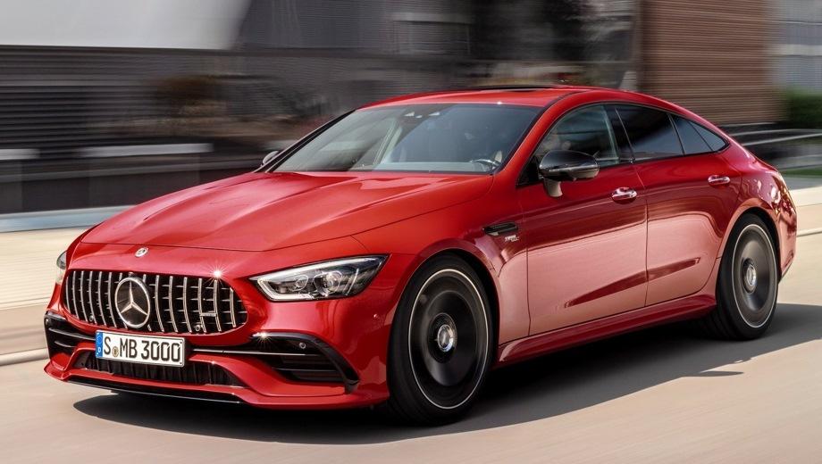 Mercedes-Benz GT AMG Liftback. Выпускается с 2017 года. Четыре базовые комплектации. Цены от 6 550 000 до 10 990 000 руб.Двигатель от 3.0 до 4.0, бензиновый. Привод полный. КПП: роботизированная.