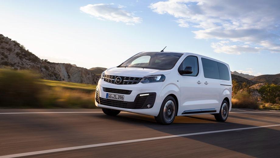 Opel Zafira Life. Выпускается с 2019 года. Три базовые комплектации. Цены от 2 859 900 до 3 359 900 руб.Двигатель 2.0, дизельный. Привод передний. КПП: автоматическая.