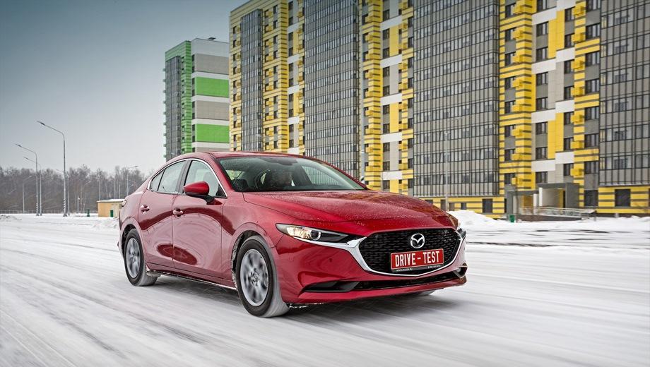 Mazda 3 Sedan. Выпускается с 2019 года. Одна базовая комплектация. Цена 1 603 000 руб.Двигатель 1.5, бензиновый. Привод передний. КПП: автоматическая.