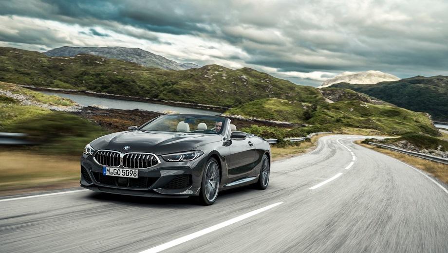 BMW 8 Series Cabrio. Выпускается с 2018 года. Две базовые комплектации. Цены от 8 150 000 до 9 920 000 руб.Двигатель от 3.0 до 4.4, бензиновый. Привод полный. КПП: автоматическая.