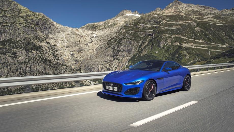 Jaguar F-Type Coupe. Выпускается с 2019 года. Пять базовых комплектаций. Цены от 5 715 000 до 9 892 000 руб.Двигатель от 2.0 до 5.0, бензиновый. Привод задний и полный. КПП: автоматическая.