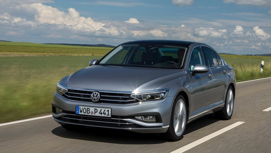 Volkswagen Passat. Выпускается с 2019 года. Пять базовых комплектаций. Цены от 2 096 000 до 2 776 000 руб.Двигатель от 1.4 до 2.0, бензиновый. Привод передний. КПП: роботизированная.
