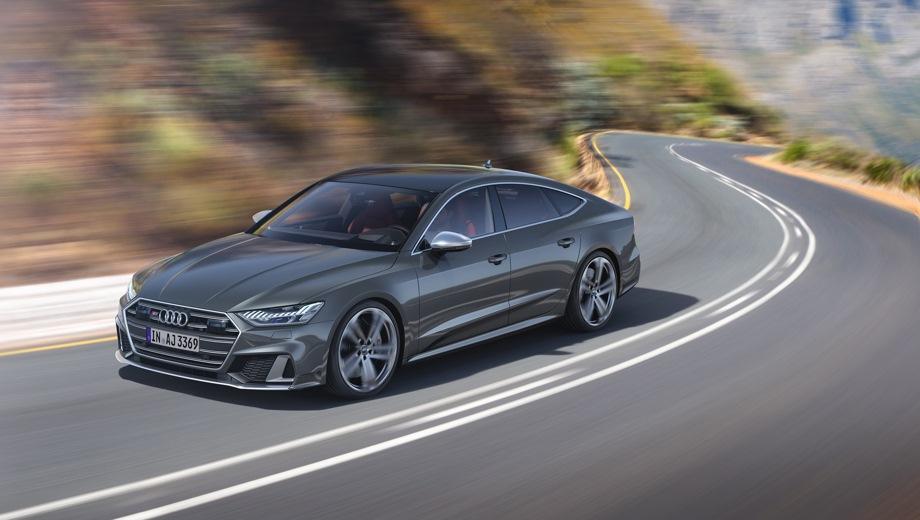 Audi S7 Sportback. Выпускается с 2019 года. Одна базовая комплектация. Цена 7 041 000 руб.Двигатель 3.0, бензиновый. Привод полный. КПП: автоматическая.
