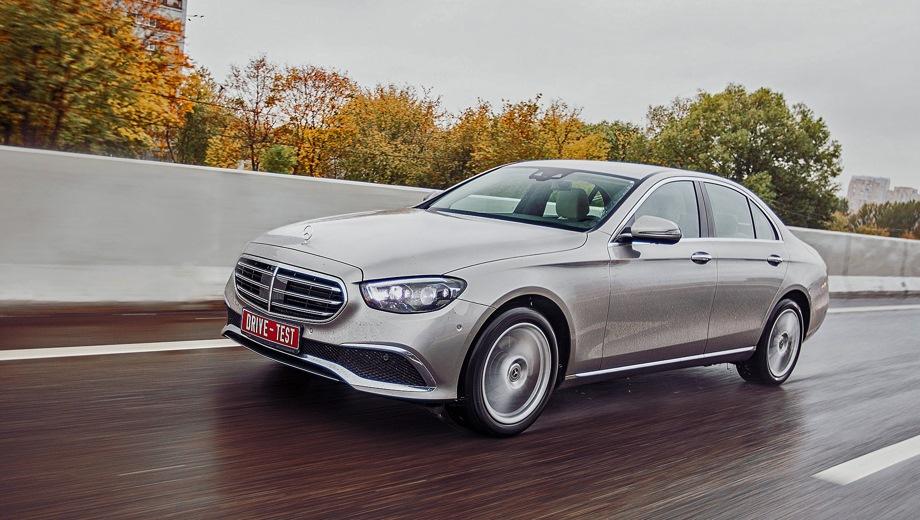 Mercedes-Benz E Sedan. Выпускается с 2020 года. Восемь базовых комплектаций. Цены от 4 770 000 до 6 400 000 руб.Двигатель от 2.0 до 3.0, бензиновый, дизельный и гибридный. Привод задний и полный. КПП: автоматическая.