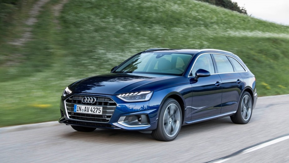 Audi A4 Avant. Выпускается с 2019 года. Двенадцать базовых комплектаций. Цены от 2 540 000 до 3 445 000 руб.Двигатель 2.0, бензиновый. Привод передний и полный. КПП: роботизированная.