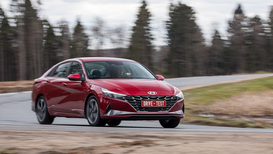 Hyundai Elantra. Выпускается с 2020 года. Семь базовых комплектаций. Цены от 1 404 000 до 1 810 000 руб.Двигатель от 1.6 до 2.0, бензиновый. Привод передний. КПП: автоматическая.