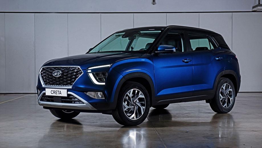 Hyundai Creta. Выпускается с 2021 года. Семнадцать базовых комплектаций. Цены от 1 199 000 до 1 990 000 руб.Двигатель от 1.6 до 2.0, бензиновый. Привод передний и полный. КПП: механическая и автоматическая.