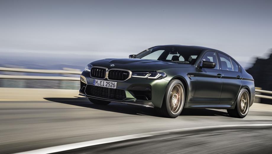 BMW M5. Выпускается с 2020 года. Три базовые комплектации. Цены от 9 600 000 до 14 200 000 руб.Двигатель 4.4, бензиновый. Привод полный. КПП: автоматическая.