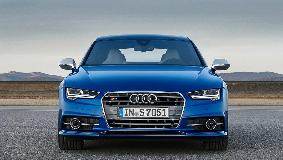Audi S7. Выпускается с 2012 года. Одна базовая комплектация. Цена 6 000 000 руб.Двигатель 4.0, бензиновый. Привод полный. КПП: роботизированная.